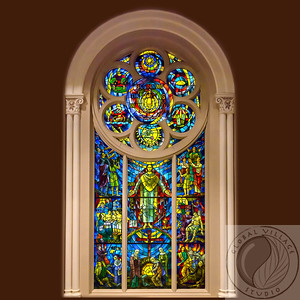 Front CCC Stained Glass