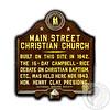 CCC Main Street Marker