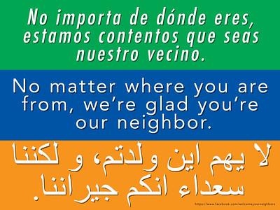 Mennonite welcomesigns