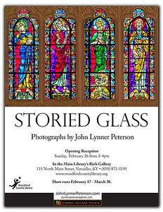 A new exhibit.  You're invited to the reception or visit anytime before the end of March!