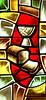 Religious Art, Stained Glass from 1st Christian Church (Disciples of Christ) Alexandria VA                                                                      John Lynner Peterson, photographer