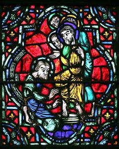 Religious Art, Stained Glass                                                                      John Lynner Peterson, photographer