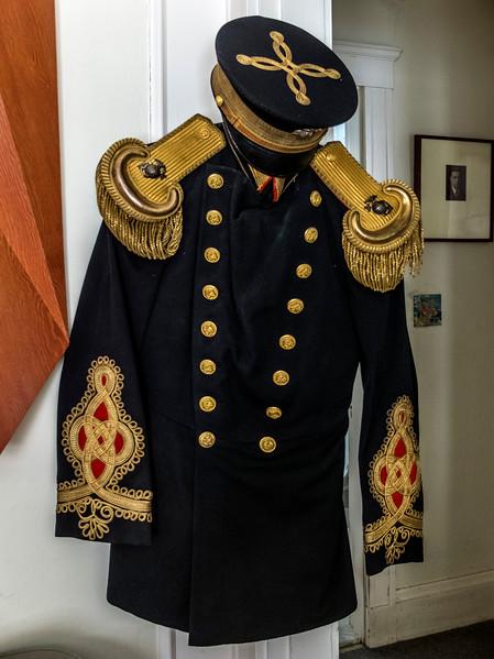 Major Edward Ball Cole's WWI USMC Dress Uniform 2016
