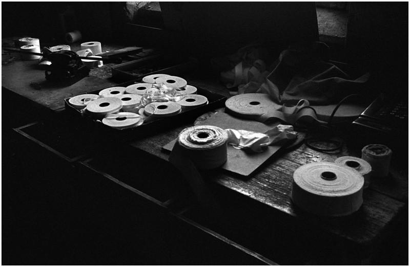 Cohoes NY Circa 1997-1999 Abandoned Knit Factory Harmony Spools