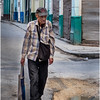 16 Cuba Havana Old Havana Old Man Walking March 2017