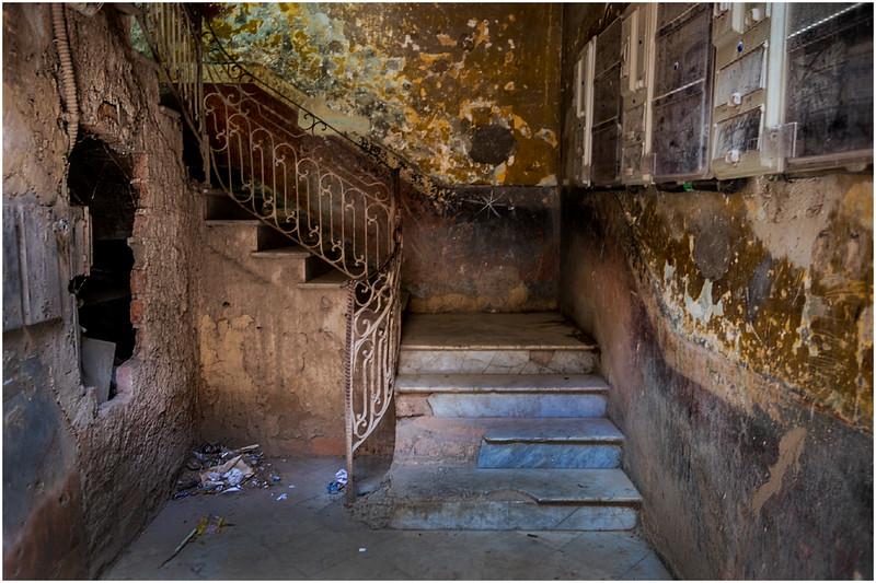 Cuba Havana Old Havana Abandoned Interior 1 March 2017