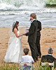 Beach Wedding, Hatteras, North Carolina Coast