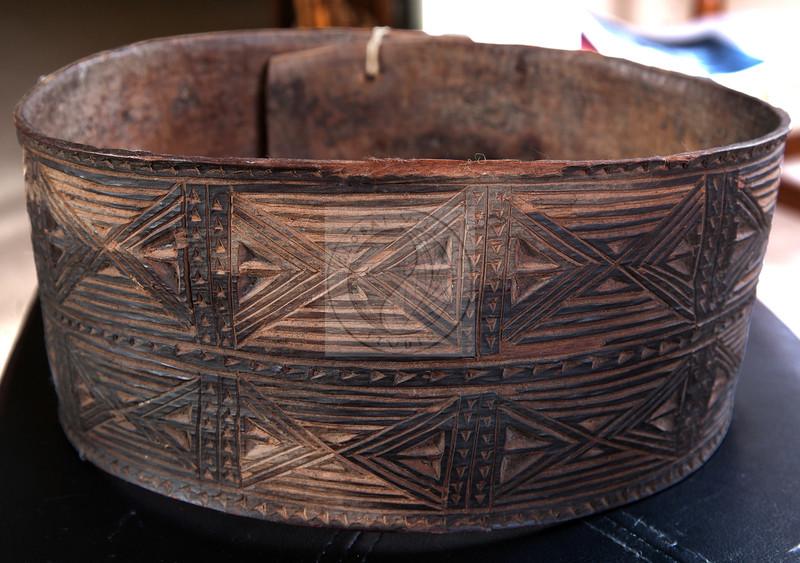 Decorated bark belt. Papua New Guinea<br /> <br /> $175