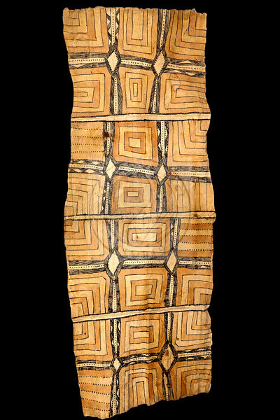 "Tapa cloth - Papua New Guinea - 22"" X 54""<br /> <br /> $175"