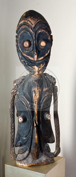 Four Faces Carving - Sepik River - Papua New Guinea<br /> 34h, 11w<br /> <br /> $500