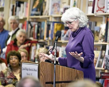 Barbara Brown Taylor, Quail Ridge Books in Raleigh North Carolina