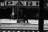 Loop Parking (Chicago), 1972 ---Lexington Kentucky Photographer John Lynner Peterson