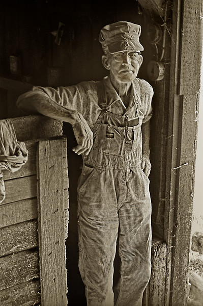 Pete Kalgarden Iowa Farmer