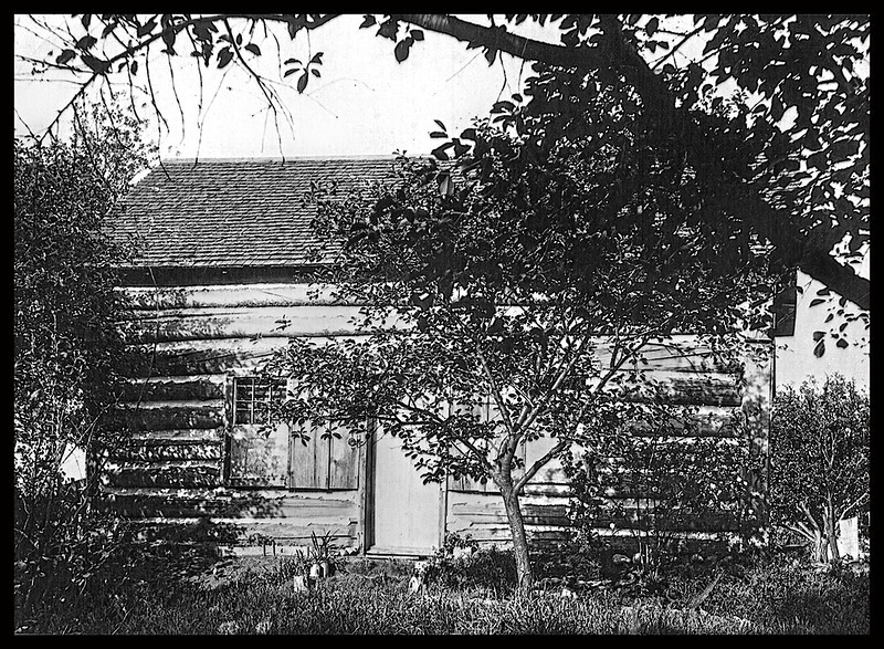 1 Log Cabin - The log cabin where my father was born February 13, 1876 l