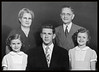 2 Family Father's second family Mom and Dad, Lorna, Don and Lynda  Circa 1948