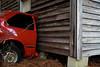 "Red Half Car - Morrisville North Carolina - Raleigh Community Service Photography - Global Village Studio --- <a href=""http://globalvillagestudio.com/"">http://globalvillagestudio.com/</a>"