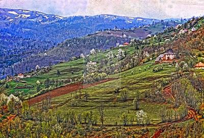 Yugoslavia Mountain Valley 2