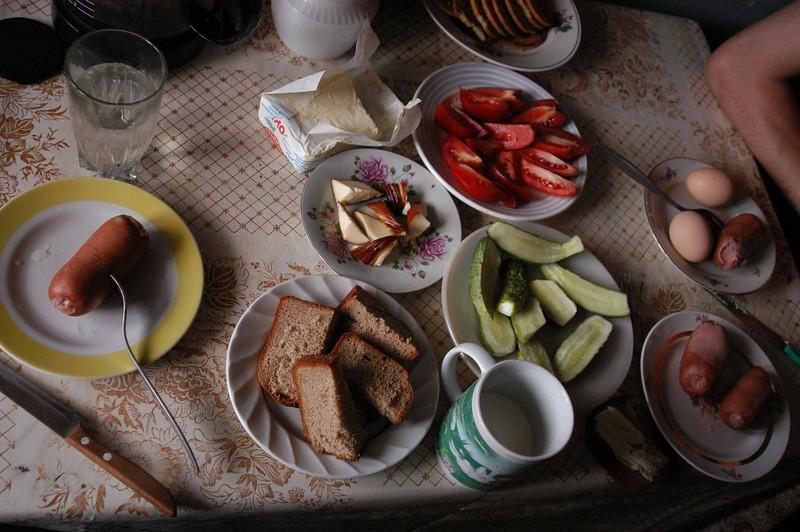 Typical summer lunch feast, yum!!