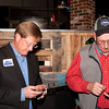 Shaie Williams / for AGN Media<br /> <br /> Bill Bandy left and J. R. Mathes searching results at the local watch party held at Joe Daddy's March 4, 2014. for the March primary election.