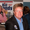 Shaie Williams / for AGN Media<br /> <br /> Bill Bandy awaits results for the March Primary at a local watch party held at Joe Daddy's March 4, 2014.