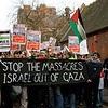 Gaza solidarity protest 2009