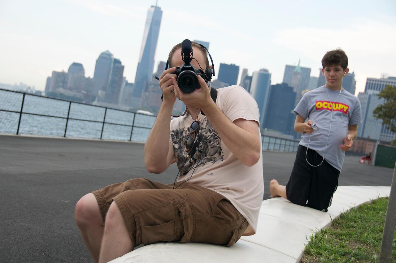 Big Daddy Autism film shoot