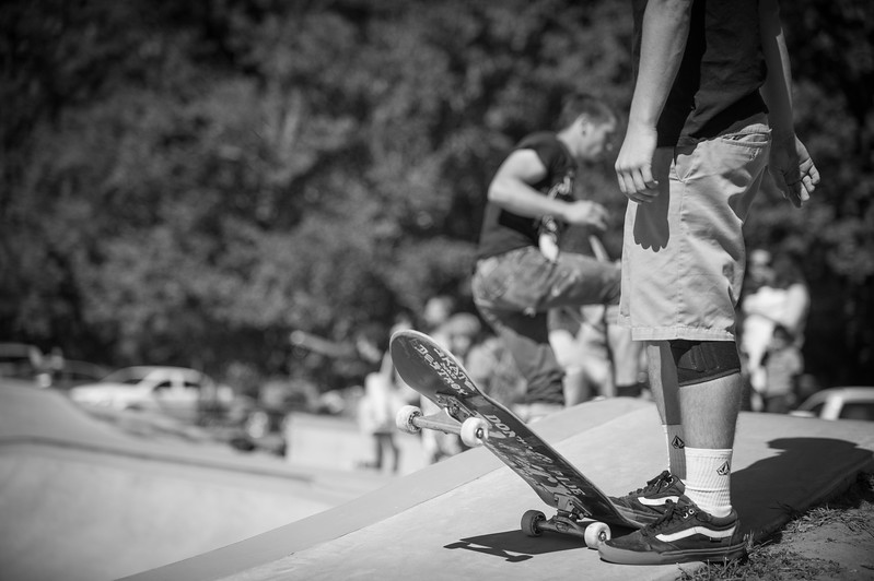 "HERNANDO, MISS. - Photos from 2016 documentary project featuring Edward Pidgeon and Hernando Skates at the Renansant Skate Park, locally know as ""Pidgeon Park"". / Photos by Bryan Cox © 2016 All rights reserved."