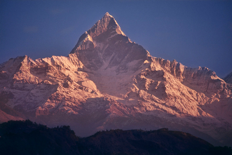 Mount Machapuchare / Monte Machapuchare