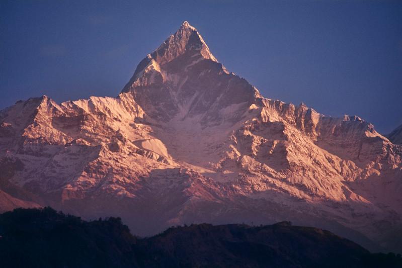 Mount Machapuchare / Monte Machapuchare