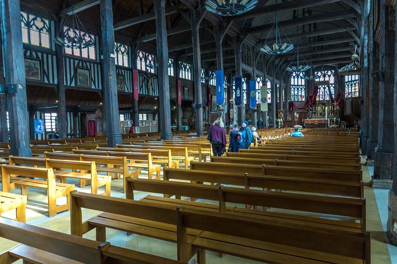 Sainte-Catherine de Honfleur - interior
