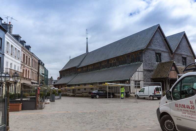 Sainte-Catherine de Honfleur - the largest timber built church in France