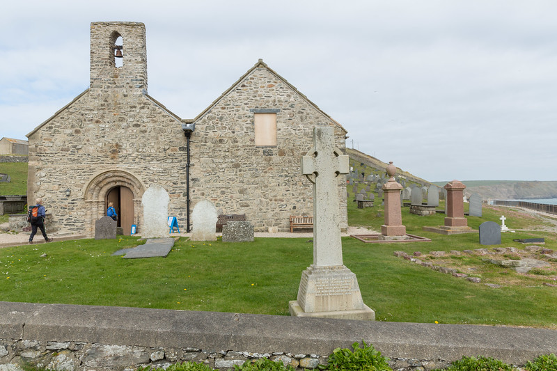 St Hywyns church - Aberdaron