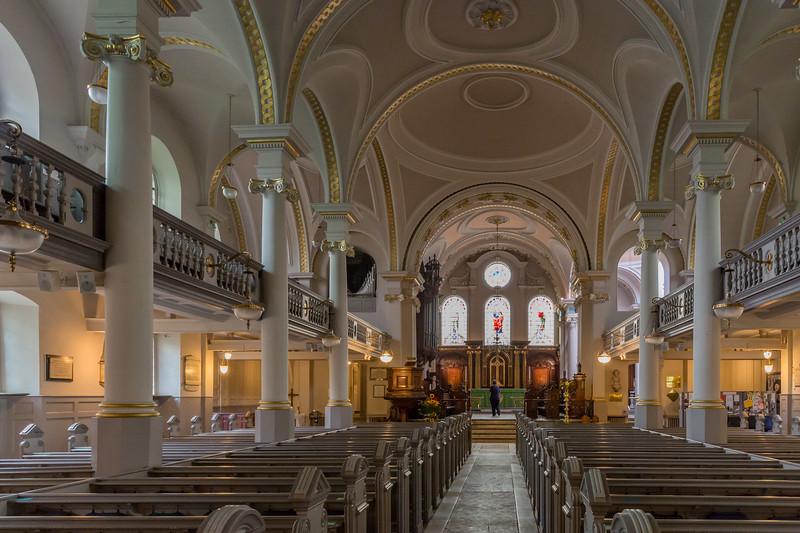 The Parish Church of St John-at-Hampstead (interior)