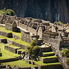 "Machu Picchu worker class habitations.  <br><br><span class=""subcaption""> (Because the building style is of lower quality for this section, experts speculate that the lower-class residents lived here.)</span>"