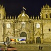"Cathedral of Santo Domingo, Cusco, Peru. <br><br><span class=""subcaption""> (In the Plaza de Armas.)</span>"