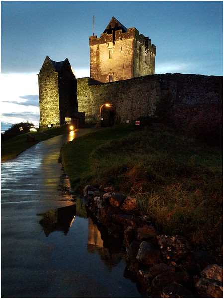 Ireland County Galway Dunguare Castle 1 September 2017