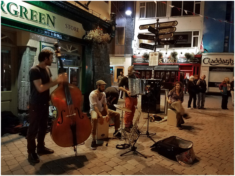 Ireland County Galway Galway City 6 Street Band September 2017