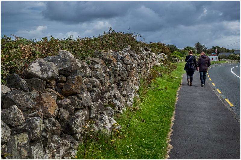 Ireland County Galway Galway Bay Furbogh 5 September 2017