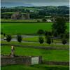 Ireland, County Offala Distant Ruins September 2017