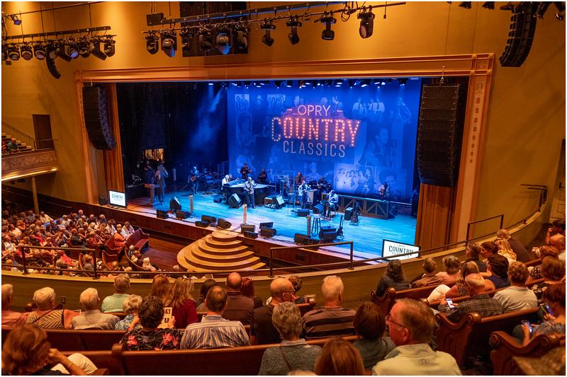 Tennessee Nashville 65 Ryman Theater September 2019