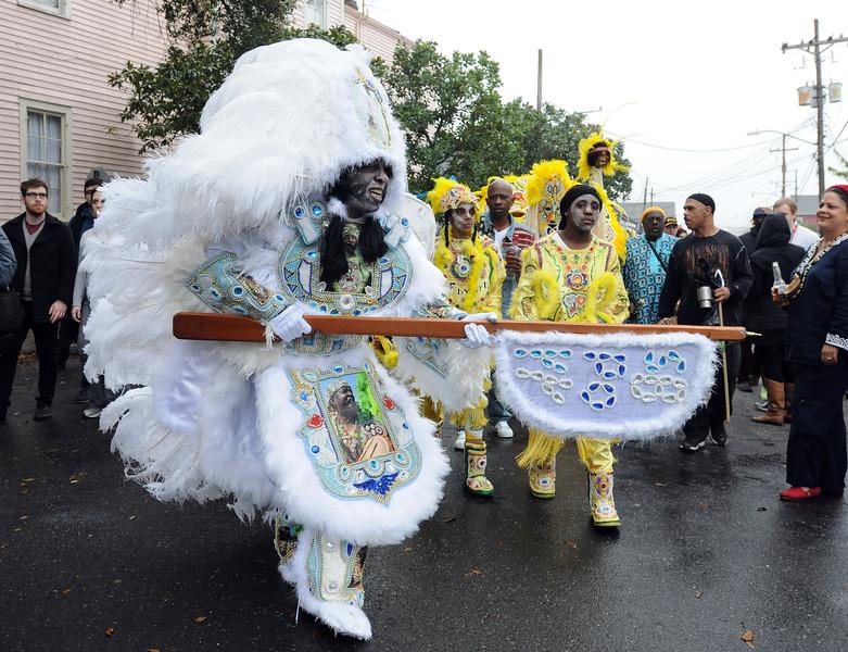 Mardi Gras in New Orleans, LA , Feb. 9-12, 2013. By David Bundy