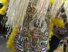 Fi-Yi-Yi tribe Big Chief Victor Harris, Mardi Gras in New Orleans, LA , Feb. 9-12, 2013. By Lisa Bundy