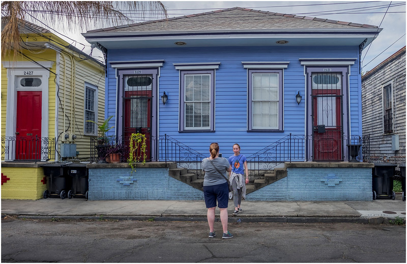 Louisiana New Orleans Marigny Family 1 March 2018