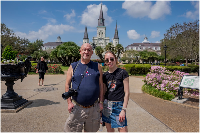 Louisiana New Orleans French Quarter Family 4 March 2018