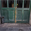 Louisiana New Orleans French Quarter Street Detail 11 March 2018