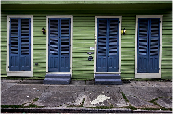 Louisiana New Orleans Marigny Street Scene 15 March 2018