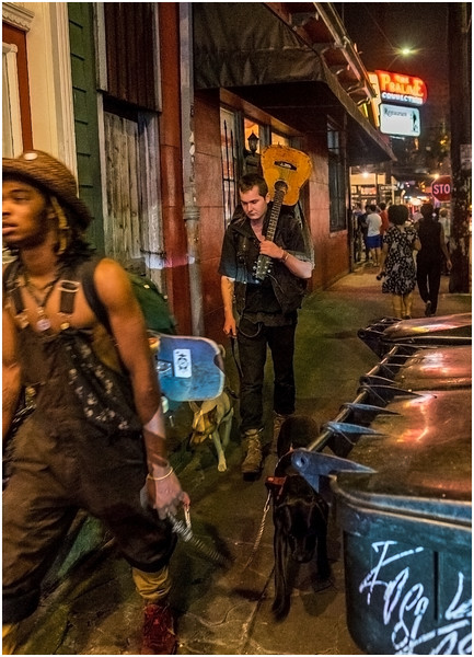 Louisiana New Orleans Marigny Street Life Night 12 March 2018
