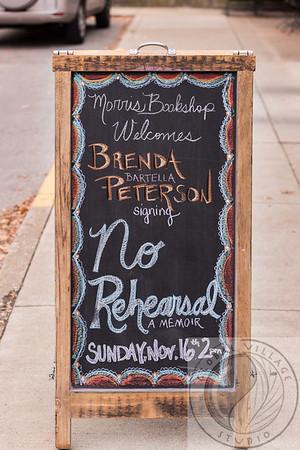"Brenda Bartella Peterson ""No Rehearsal - A Memoir""   http://www.itascabooks.com/no-rehearsal.html"