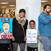 """Julian Reese's family showing their support for the event of The Reenactment of the March on Washington, """"I Have a Dream"""" speech from Dr. Martin Luther King Jr. Perfrormed by Amarillo's Julian Reese at the JBK Student Center on WTAMU campus in Canyon, TX. January 22, 2018. [Shaie Williams for Amarillo Globe News]"""