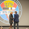 Former Gov of Texas and Current Secertary of Energy Rick Perry along with Secretary of National Nuclear Security Administration Lisa E Gordon-Hagerty extend congratulations for the completion of W76-1 Life Extension Program. This a nuclear weapon launched from naval submarines. Held at Pantex Plant in Amarillo, TX on January 23, 2019. [Shaie Williams for Amarillo Globe News]